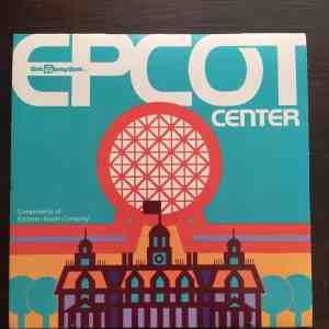 EPCOT Center 1982 map