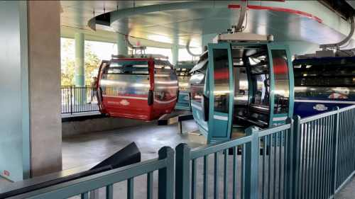 Disney Skyliner seating