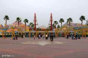 Disney California Adventure original entrance