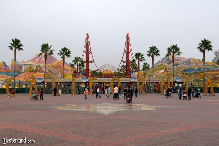 Disney California Adventure original entrance