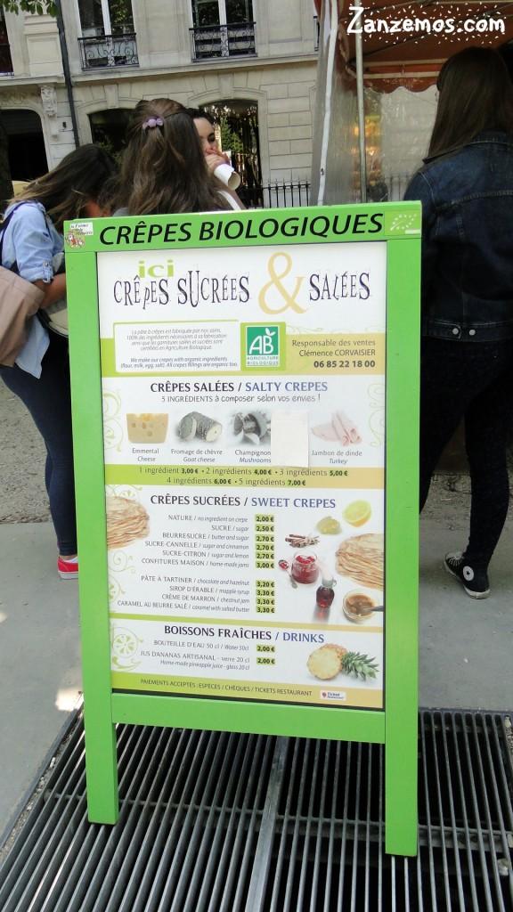 comida de rua em Paris 3