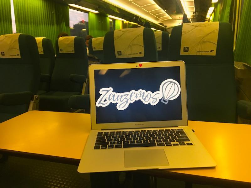 Viagem de comboio para Algarve