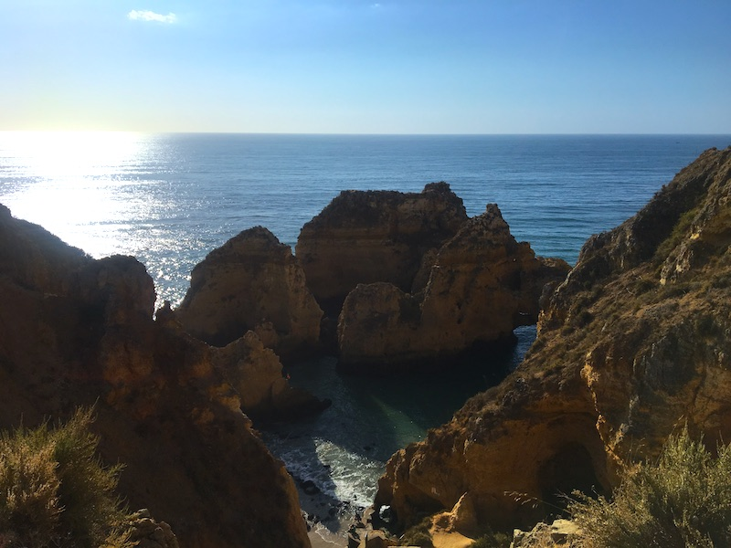 Ponta da Piedade no Algarve