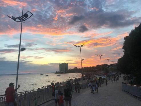 Praia de Ponta Negra Manaus