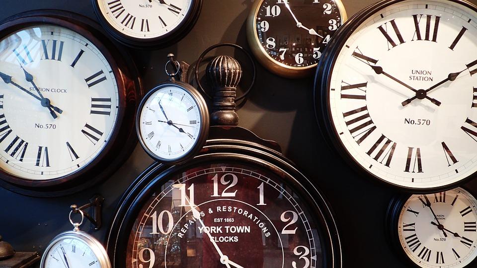 Many clocks