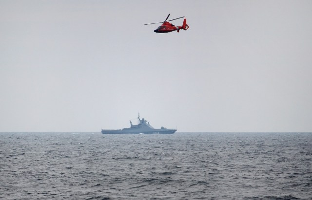 Российские корабли в Черном море препятствовали учениям Украины и США