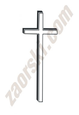 Zaorski - zdobienie krzyżem wariant 19