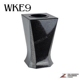 Cmentarzowy wazon zdobiony 18