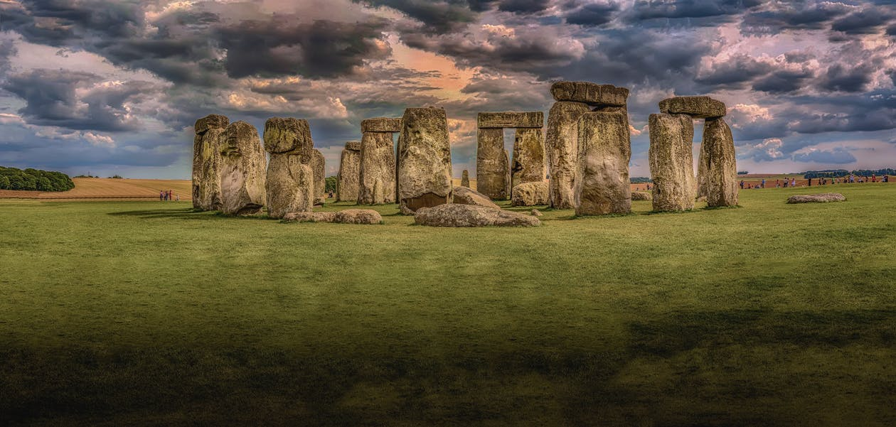Fotografia mostra que Stonehenge foi montado como se fosse um Lego