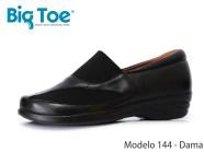 Zapato Big Toe para pie diabético de Dama Modelo 144 (auxiliar para juanete)