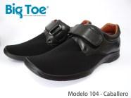 Zapato Big Toe para pie diabético de Caballero Modelo 104