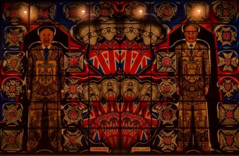 MONA - Una de las cientas de inexplicables pinturas/esculturas.