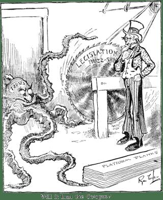 The New Deal Political Cartoon » Modern American History