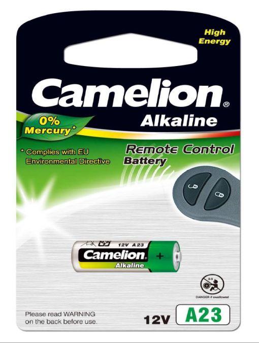 Pila Alcalina LR23A 12V 0% Mercurio (1 pc) Camelion