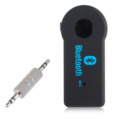 Adaptador Audio Bluetooth para Coche o entrada Jack 3.5