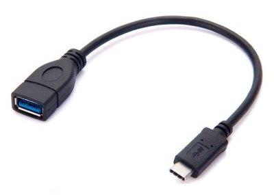 Adaptador OTG USB 3.1 Tipo C Macho a USB 3.0 Tipo A Hembra MacBo