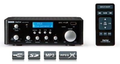Amplificador Estereo Hi-Fi 2*25W AS-24U Fonestar