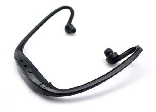 Auricular Diadema Sport MP3+Radio FM Negro