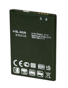 Bateria LG L5 Optimus Black P970 BL-44JN 1500mAh