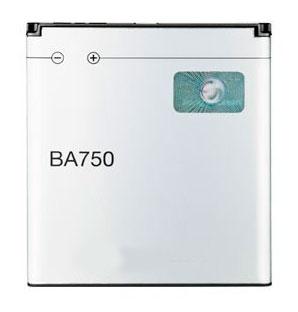 Bateria Sony Ericsson BA750 Xperia ARC S (ST26i) 1500 mAh Li-Ion