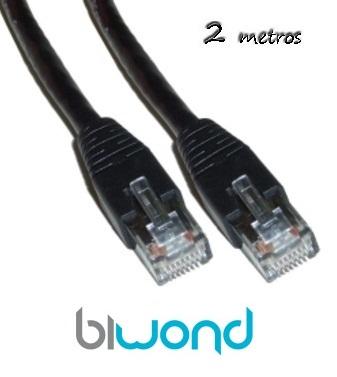 Cable Ethernet 2m Cat 6 BIWOND