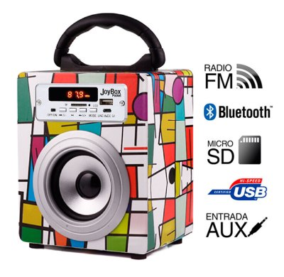 Reproductor JoyBox Pocket  Bluetooth Picasso Biwond