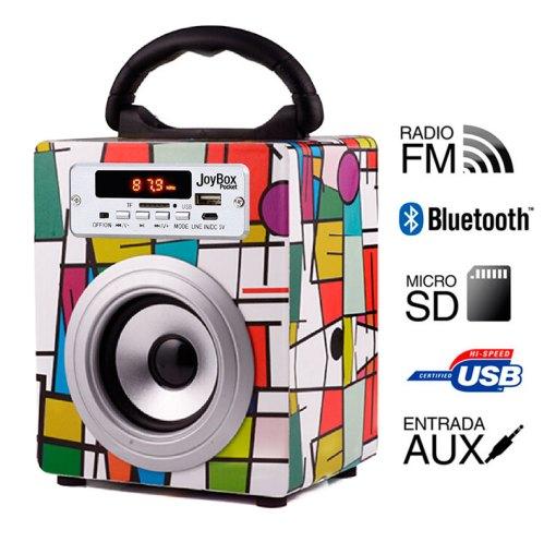 Reproductor JoyBox Pocket  Bluetooth Picasso Biwond