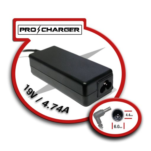 Carg. 19.5V/4.74A 6.5mm x 4.4 mm 90W Pro Charger