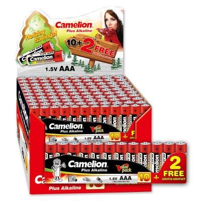 Pack 20x Plus Alcalina AAA LR03 1.5V (20 packs * 10 pilas + 2 Gr