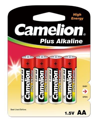 Plus Alcalina AA 1.5V (4 pcs) Camelion