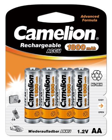 Recargable AA 1800mAh (4 pcs) Camelion