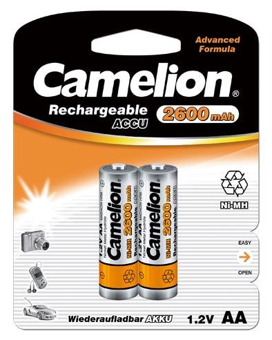Recargable AA 2600mAh (2 pcs) Camelion