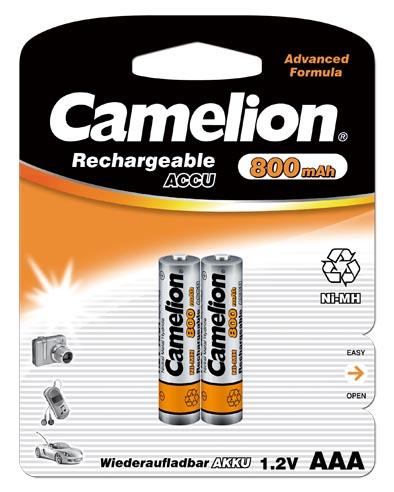 Recargable AAA 800mAh (2 pcs) Camelion