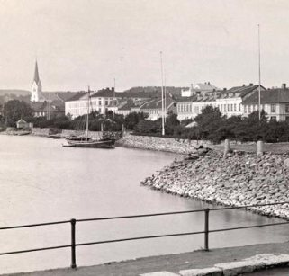 Hamar sjøside1892 uten jernbanen