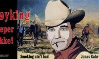 Helseminister Støres røykekampanje