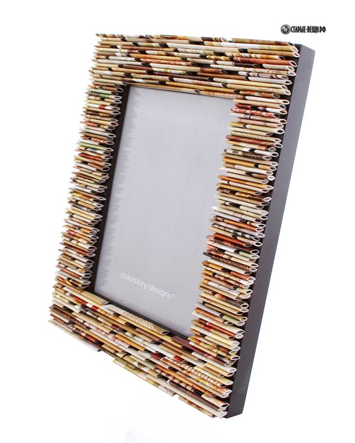 Make Picture Frames Recycled Materials