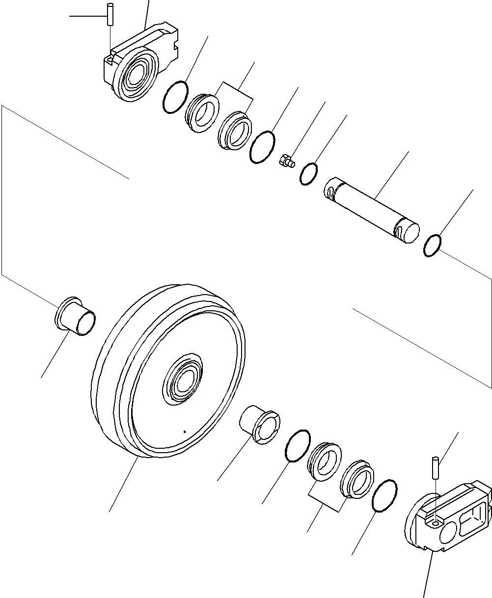 20Y-30-43310 Komatsu ЛЕНИВЕЦ