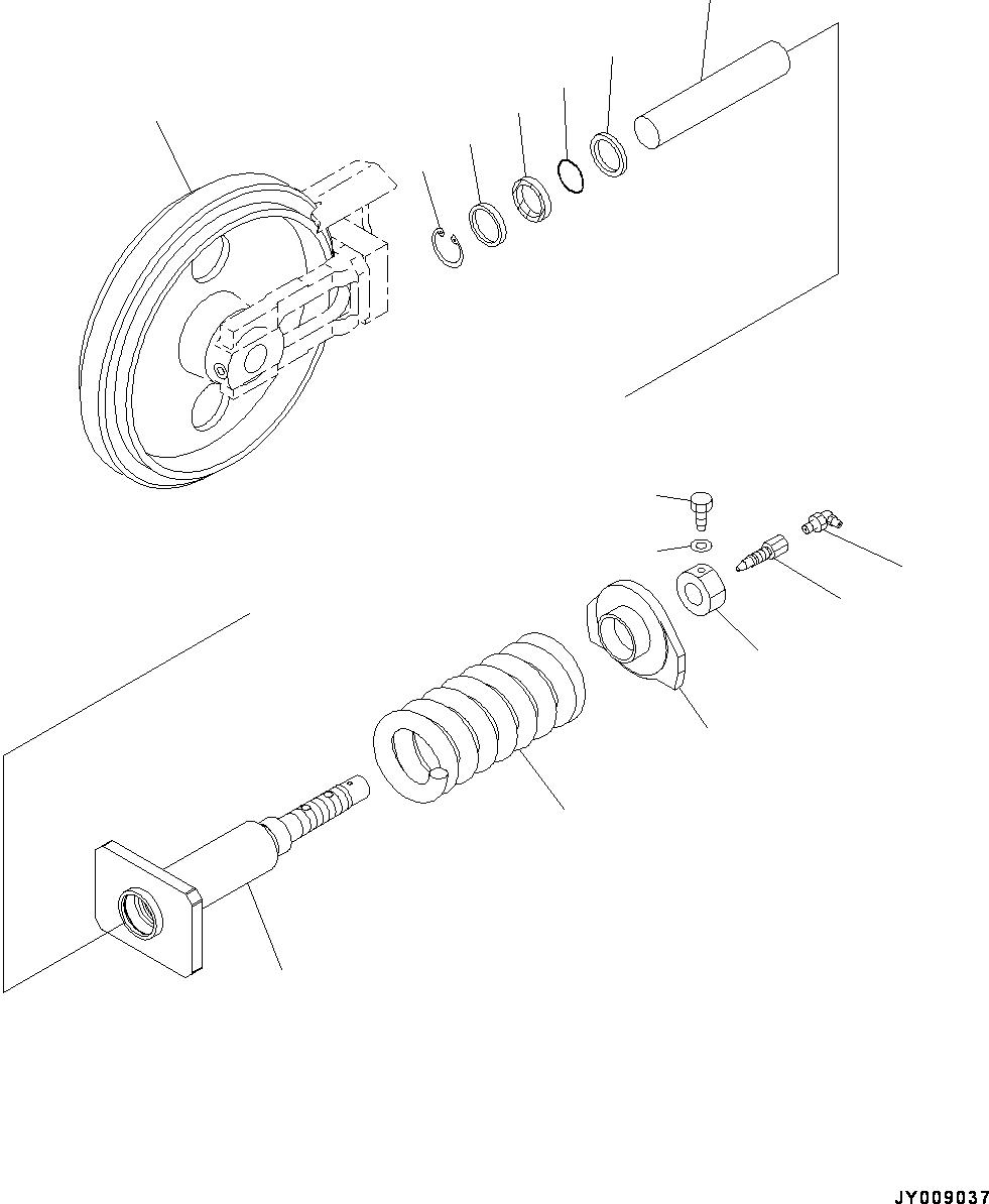 22M-30-00960 Komatsu КАТОК