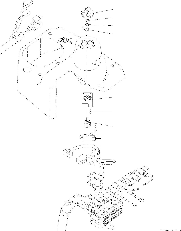 01023-60512 Komatsu ВИНТ