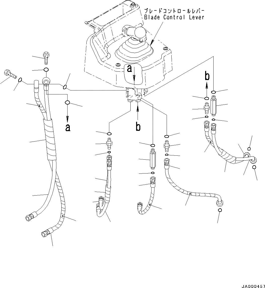 08210-01203 Komatsu ТРУБКА