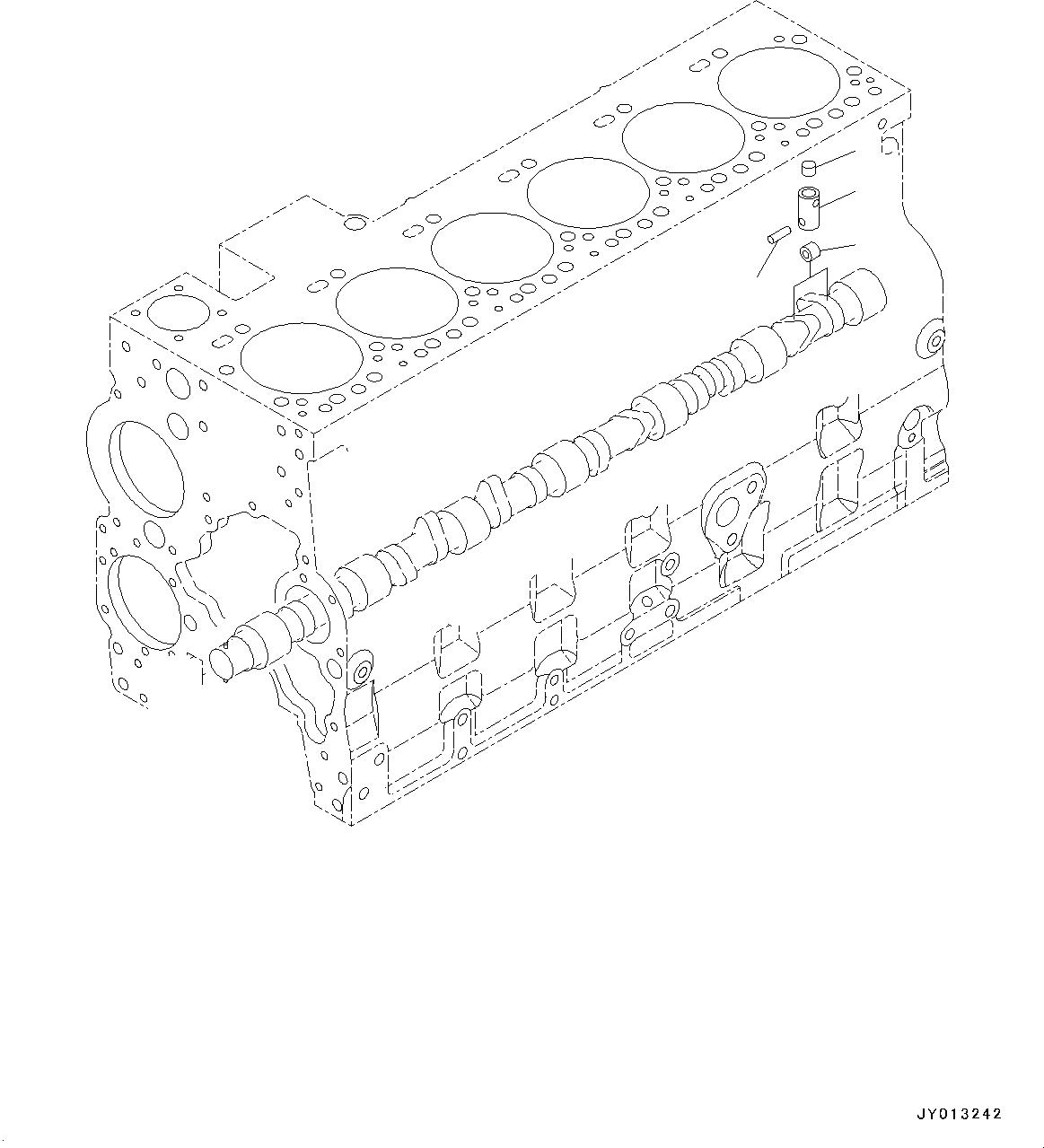 6742-01-1460 Komatsu ПРОБКА / ЗАГЛУШКА