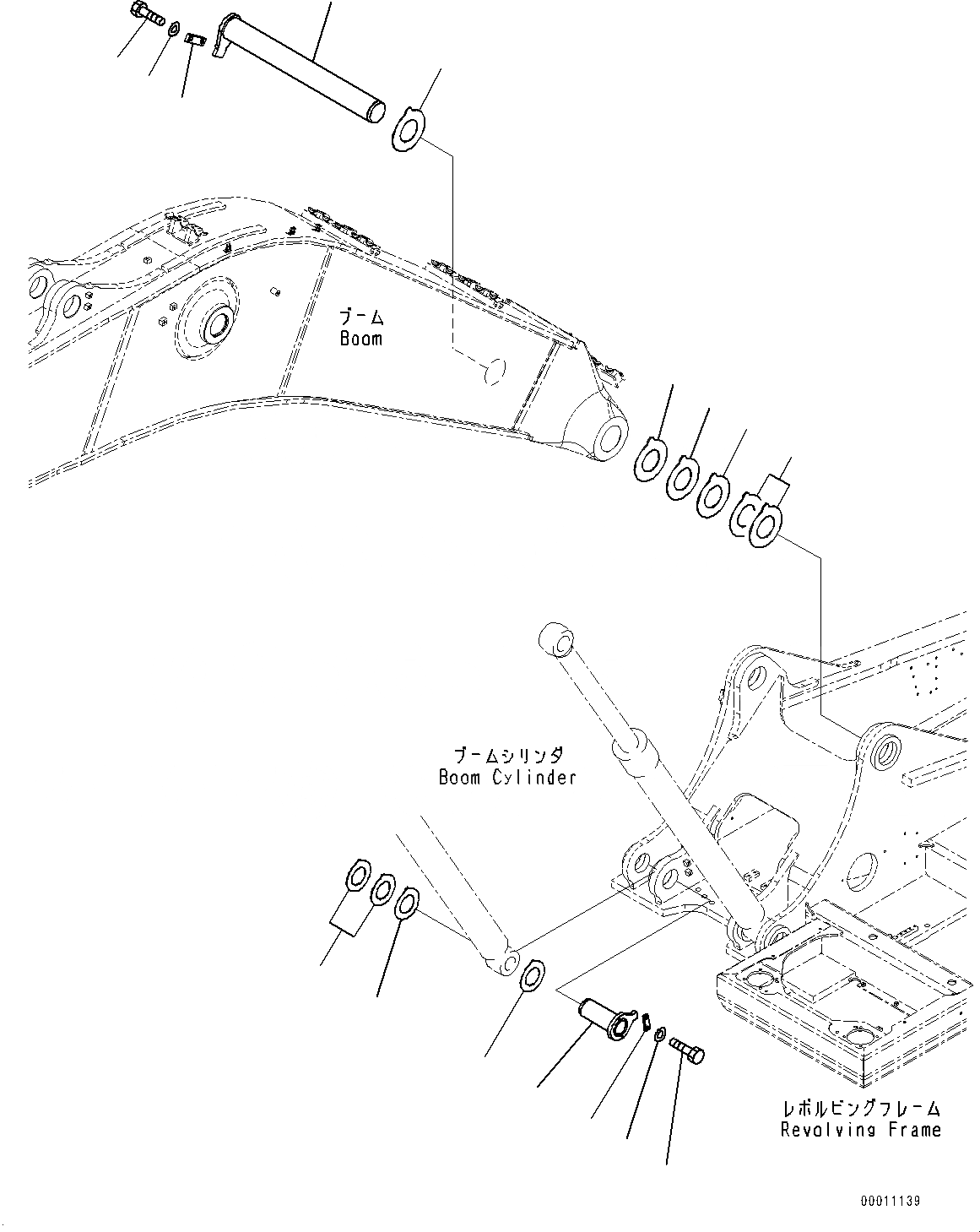 208-70-71631 Komatsu РАСПОРНАЯ ВТУЛКА