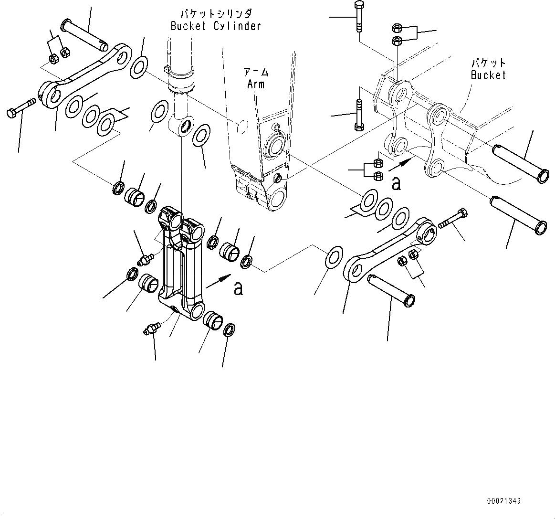 208-70-00750 Komatsu ЦЕПЬ В СБОРЕ
