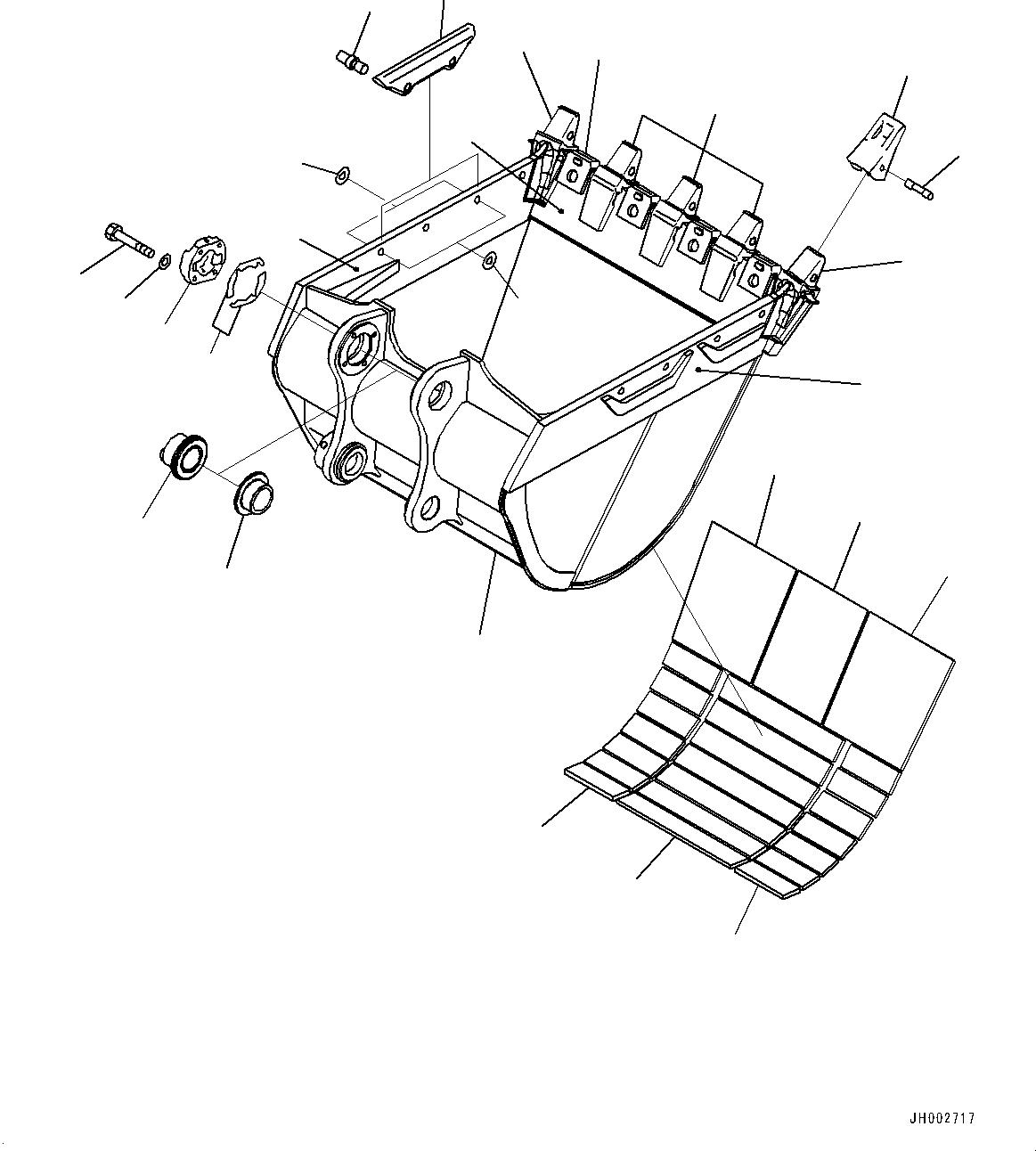 208-934-7180 Komatsu АДАПТЕР КОРОНКИ КОВША