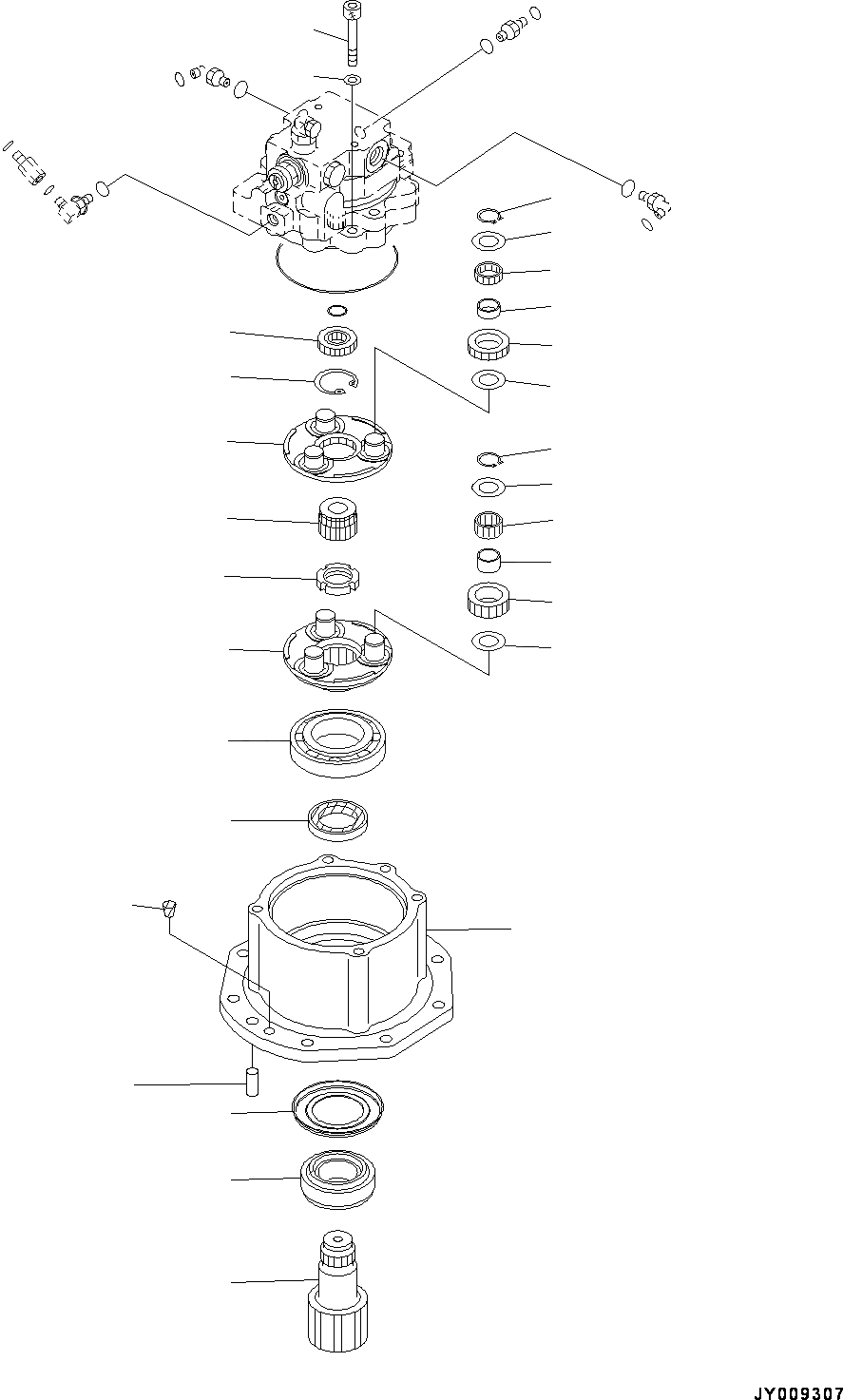 22M-26-22131 Komatsu ВАЛ