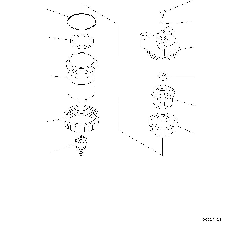 600-311-7610 Komatsu РАЗДЕЛИТЕЛЬ