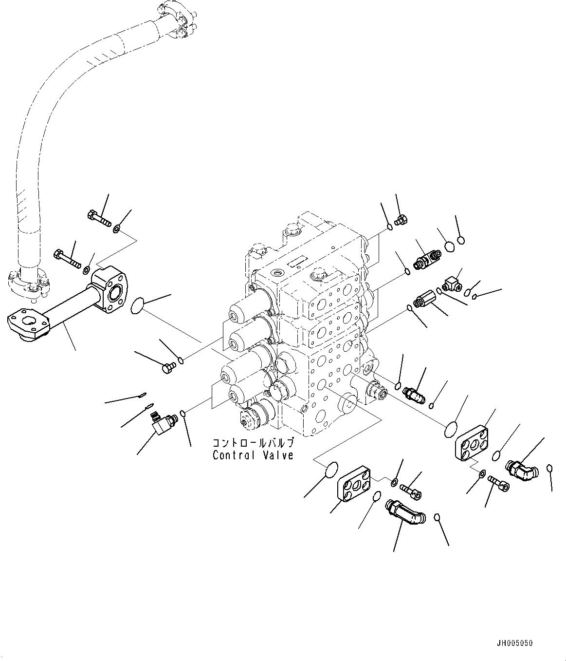 02896-11008 Komatsu УПЛОТНЕНИЕ РЕЗИНОВОЕ