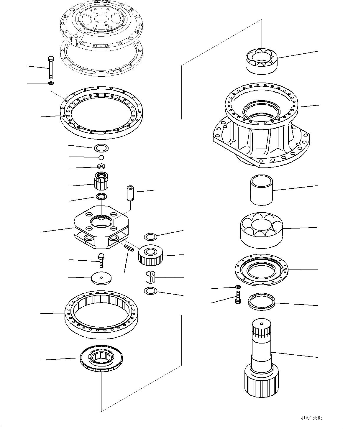 209-26-71332 Komatsu УПЛОТНЕНИЕ