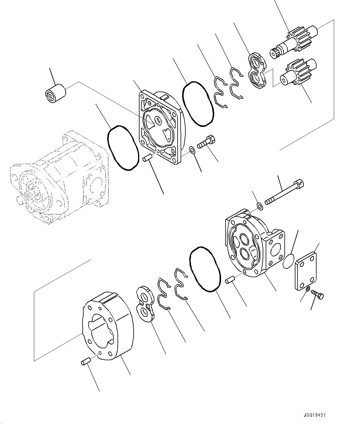 705-17-02881 Komatsu НАКЛАДКА