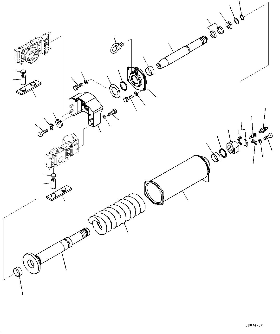 14X-30-13164 Komatsu КРОНШТЕЙН СТАЛЬ